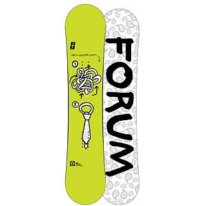 Snowboard Forum Mini Manual Boys Snowboard - Big things come in small packages with Forum. Well with the Forum Mini Manual Snowboard you finally can. Featuring the ChillyDog with Pop rocker the Mini Manual can hold presses like nobodies business without loosing any pop. With beveled edges there is no reason to take a stone to your brand new board before even thinking about taking on a rail. The bevel edges give you confidence when charging through the park while hitting every jib you find. Even though the Mini Manual is a soft rockered board it does not limit you to just rail gardens. Added pop gives you what you need to take on big booters without washing out on the lip and landings. New on the Manual this year is the Bad Ass Core, which makes it even more indestructible and Swingers Club which reduces the swing weight in the air creating faster spins. Bottom line if your looking to ride park and rails day in and day out the manual can handle it, maybe even better than your aching body. . Actual Turn Radius @ Specified Length: N/A, Base Name: FreeBase, Core Name: Bad Ass Core, Recommended Use: Freestyle, Waist Width: 235mm(136cm), Stance Width: 18-19in, Stance Setback: Centered, Special Features: Swingers Club, Rocker Profile: Rocker, Shape: Twin, Flex: Medium, Pipe Oriented: No, Board Width: Regular, Rocker Type: ChillyDog, Core Material: Wood, Construction Type: Sidewall Construction, Hole Pattern: Standard 4 Hole, Magnatraction: No, Base Material: Extruded P-tex, Warranty: One Year, Skill Range: Intermediate - Advanced, Model Year: 2013, Product ID: 271418, Gender: Boys, Skill Level: Intermediate - $149.95