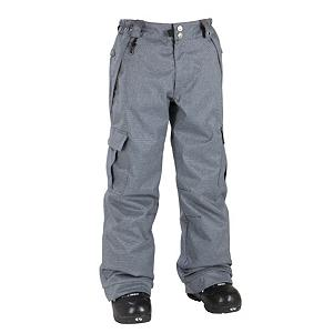 Snowboard 686 Mannual Ridge Check Insulated Kids Snowboard Pants - 686's Ridge Insulated Snowboard Pant, part of the Mannual line, features an Infidry-5 construction which makes the pant breathable and waterproof by allowing interior moisture to vapor through and preventing surface moisture from soaking through. Additional weatherproofing is offered by the moisture-wicking nylon taffeta lining, critically taped seams and snow gaiters in the cuff with boot hooks and sock guards to protect against snow getting into the pant. Keeping him comfortable is a partially elasticized waistband with a soft peached lining and articulated knees giving him better mobility for tricks and riding. With 80g of insulation throughout, he will be very comfortable but able to layer as needed. Keeping his gear by his sides at all times is conveniently located side cargo pockets and two handwarmer pockets, just in case he needs them. The Ridge, a great snowboarding pant for bluebird to blizzard. Features: Handwarmer front hip pockets, Pant to Jacket powderskirt connection points. Exterior Material: Poly 2 color piece dyed checked plaid, Softshell: No, Insulation Weight: 80 Grams, Taped Seams: Critically Taped, Waterproof Rating: 5,000mm, Breathability Rating: 5,000g, Full Zip Sides: No, Thigh Zip Venting: No, Suspenders: None, Articulated Knee: Yes, Warranty: One Year, Race: No, Waterproof: Moderately Waterproof (5000mm-19,999mm), Breathability: Moderate Breathability (4000g-8999g), Use: Snowboard, Type: Insulated, Cut: Regular, Lining Material: Nylon Taffeta, Waist: Elastic, Pockets: 3-4, Model Year: 2012, Product ID: 243333 - $39.91
