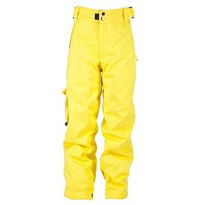 Snowboard Ride Charger Kids Snowboard Pants - For the up and coming generation of riders who are hard charging all day long. This pair of Charger Snowboard Pants has been specifically designed for boys and offers the best in warmth and protection from the outside elements. The color combination and the high end style combined puts the fun back into function. There are many rider active features that will benefit your little rider while he is in the park, the pipe or on the back trails. There is 80g of poly insulation with tricot lining for additional warmth, comfort and performance should the weather conditions change drastically. Moms love the Ride's Youth Growth Series, this feature extends 1.5 inches out in length, so instead of buying new pants every year, the Charger Pant keeps you going longer. This feature grows as he does and will keep this pair of Charger Snowboard Pants around a lot longer than just one season. There are loops that attach to the jacket powder skirt to keep the unwanted snow from entering your childs core. The adjustable double-snap elastic waist closure provides a custom fit each time that he takes to the powder. The soft front micro-fleece lined toaster pockets provide a quick warm-up if the temperatures keep changing. Ride has created the perfect balance of fashion and function for a super day on the hill for your little rider all season long. Features: Shred-Free Slightly Higher Pant Leg Back, Boot Gaiters, Side Cargo Pass Pocket, Front Micro-Fleece Lined Toaster Pockets, Back Pockets. Model Year: 2013, Product ID: 284449, Shipping Restriction: This item is not available for shipment outside of the United States., Model Number: R1211065062, GTIN: 0714636975433, Pockets: 3-4, Waist: Adjustable, Lining Material: Nylon Blend, Pant Fit: Regular, Type: Insulated, Use: Snowboard, Breathability: Low Breathability (< 5,000g), Waterproof: Water Resistant (< 5,000mm), Race: No, Warranty: One Year, Articulated Knee: No, Suspenders: None, Thigh Zip Ventin... - $49.89