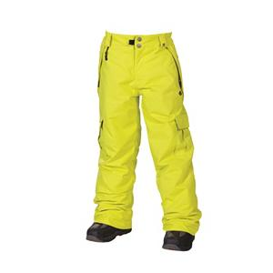 Snowboard 686 Mannual Ridge Kids Snowboard Pants - The 686 Mannual Ridge Snowboard Pant brings it all together with your favorite 686 Snowboard Jacket. The Mannual Ridge Pant Is the snowboard pant requested by all, offering the coolness of dual side cargo pockets, awesome color choices, comfort in fit and great body insulation with critically taped seams to keep the cold air out. The Youth Evolution leg length and waist width extension system allow you to take The Ridge Pants to the next winter season - as you will have found your favorite snowboard pant that you don't want to part with so soon. . Taped Seams: Critically Taped, Breathability Rating: 5,000g, Full Zip Sides: No, Thigh Zip Venting: No, Suspenders: None, Articulated Knee: No, Warranty: Other, Breathability: Low Breathability (< 5,000g), Waist: Adjustable, Model Year: 2013, Product ID: 292508, Model Number: L2W602B ACID S, GTIN: 0883510200425, Pockets: 3-4, Lining Material: Nylon Taffeta, Pant Fit: Regular, Type: Insulated, Use: Snowboard, Waterproof: Water Resistant (< 5,000mm), Race: No, Waterproof Rating: 5,000mm, Insulation Weight: 80g, Softshell: No, Exterior Material: Polyester - $59.91