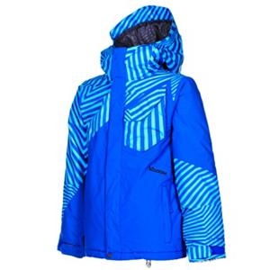 Snowboard Volcom Ace Insulated Boys Snowboard Jacket - This jacket pretty much has everything a parent and a mini shredder are looking for; it is the ace in hole when it comes to junior performance. The Volcom Ace Insulated Kids Snowboard Jacket is a piece of clothing your son will love from the moment he places his arms in the sleeves and zips it up for the very first time. He will avoid summer vacation and long for those cold winter days when he can hit the slopes. It's breathable and waterproof. Insulated with Poly Fill, he will stay warm even on the coldest days waiting for the bus for school. When the face gets chilly, he can use the integrated super suede chin guard to block his face from the wind. The hood is also helmet compatible so he can keep the warmth of the hood and still have the protection of the helmet. One of the most beneficial features is its Grow-Tech - it allows you to add length to the garment so that you won't have to spring for another jacket next year. The warm and comfortable Volcom Ace Insulated Snowboard Jacket will last your son season after season. Features: Mesh Lined Zippered Vents, Brushed Tricot Lined Handwarmers, Noise Pocket. Exterior Material: V-Science Oxford, Insulation Weight: 120g, Taped Seams: Critically Taped, Waterproof Rating: 10,000mm, Breathability Rating: 10,000g, Hood Type: Fixed, Pit Zip Venting: Yes, Pockets: 1-3, Electronics Pocket: Yes, Goggle/Sunglasses Pocket: No, Powder Skirt: Yes, Hood: Yes, Warranty: One Year, Use: Snowboard, Battery Heated: No, Race: No, Type: Insulated, Cut: Regular, Length: Medium, Insulation Type: Synthetic, Waterproof: Moderately Waterproof (5000mm-19,999mm), Breathability: High Breathability (9000g-15,000g), Cuff Type: Velcro, Wrist Gaiter: No, Waterproof Zippers: No, Cinch Cord Bottom: No, Insulator: No, Model Year: 2013, Product ID: 290572 - $119.95