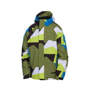 Snowboard 686 Mannual Mix Boys Snowboard Jacket - The Mannual Mix Snowboard Mix Jacket will be the talk on the slopes! You're riding cool in The Mix Jacket as you stay warm and comfy practicing your sport. The mixed up design and pattern of The Mix Jacket will hook up with any of your favorite 686 Snowboard Pants. The sleeve and hood insulation with critically taped seams will keep the cold air out. When your kid wants to step out of the box and mix it up a bit, The 686 Mannual Mix Jacket will suit his desires. . Exterior Material: Polyester, Insulation Weight: 120g, Taped Seams: Critically Taped, Waterproof Rating: 5,000mm, Breathability Rating: 5,000g, Hood Type: Fixed, Pit Zip Venting: No, Pockets: 4-5, Electronics Pocket: No, Goggle/Sunglasses Pocket: No, Powder Skirt: Yes, Hood: Yes, Warranty: Other, Use: Snowboard, Battery Heated: No, Race: No, Type: Insulated, Jacket Fit: Regular, Length: Medium, Insulation Type: Synthetic, Waterproof: Water Resistant (< 5,000mm), Breathability: Low Breathability (< 5,000g), Cuff Type: Velcro, Wrist Gaiter: No, Waterproof Zippers: No, Cinch Cord Bottom: No, Insulator: No, Model Year: 2013, Product ID: 292496, Model Number: L2W504 ACID S, GTIN: 0883510199712 - $64.99