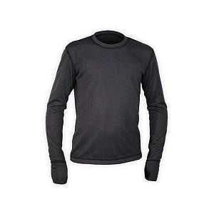 Snowboard The Hot Chillys Boys Geo Pro Long Underwear Crewneck Top brings to you what is offered for men - you get the same quality and performance. The Geo Pro Crewneck Base Layer is great for all your outdoor needs and perfect for your casual lifestyle. The interlocked construction of MTF polyester yarns help pull moisture away from your skin so it is rapidly dispersed and evaporated to keep you feeling warm and comfortable no matter where your adventure begins. Hot Chillys offers softness and performance in a garment that supplies you with a lived-in feel. The Geo Pro Base Layers are made with contrast flat seamed stitching to eliminate binding and abrasion - providing you with complete comfort.  Extended cuffs with thumbhole,  Contrast flat seam construction,  Self fabric banded collar,  Model Year: 2016, Product ID: 269189, Model Number: HC4961 909 S, GTIN: 0614996348130, Neck: Crew, Type: Top, Weight: Mid, Material: Synthetic, Warranty: One Year, Fit: Loose - $24.96