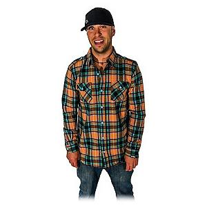 Snowboard Icelantic Icey Flannel - The Icelantic Icey Flanel is warm, fuzzy, and comfortable. Get one if you are looking for that warm fuzzy feeling that a shot of whiskey gives you. . Insulation Weight: None, Hood Type: None, Material: Flannel, Fleece Weight: None, Category: Mid-Weight, Hood: No, Warranty: One Year, Battery Heated: No, Type: Button Up, Wind Protection: No, Type: Flannels, Material: Cotton, Pockets: 1-2, Wicking Properties: No, Type: Long Sleeve, Water Resistant: No, Model Year: 2013, Product ID: 273580 - $55.00