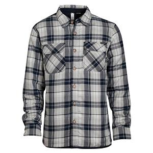 Snowboard Oakley Evolving Woven Flannel - For a hip, stylish look pick up the Oakley Evolving Woven Flannel. This woven plaid flannel is made with reversible yarn dyed Therm0gauge that will keep you warm on its own and adds extra warmth as a layering piece on the super cold days. A full button up top it also is comfortable with its poly taffeta quilted lining and two front chest pockets come in handy for storing your cell, wallet or keys. Added flair on the Oakley Evolving Woven Flannel comes from the front logo patch and a logo on the back as well. . Hood Type: None, Material: Polyester Therm0gauge, Bearing Grade: Performance, Warranty: One Year, Battery Heated: No, Closure Type: Button Up, Wind Protection: No, Type: Flannels, Material: Synthetic, Pockets: 1-2, Wicking Properties: No, Sleeve Type: Long Sleeve, Water Resistant: No, Model Year: 2013, Product ID: 291600, Model Number: 401444 22Y S, GTIN: 0885614735667, Hood: No, Category: Light-Weight - $49.92