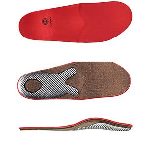 Ski A foot bed or insole is the most important piece of ski equipment that you can have.  Foot beds improve your balance, and balance is a major part of skiing.  All feet need to be in a supported position up on the tripod of your foot between your first, fifth metatarsals, and your heel bone.  The entire foundation of doing something athletic starts by getting your foot on your tripod, and when your foot is locked up in the foam, rubber and plastic, you need even more support.  An unsupported foot prohibits blood flow, a supported foot promotes the blood to flow easier through your feet to your toes, better blood flow to your toes means having warmer feet, who likes skiing with cold feet.  A foot bed will also pull your toes slightly off of the front of the boot, and align your knees better.  The Snow+ has the same principles as a custom, but not shaped perfectly for your own foot, but it does fit most foot shapes.  If you are looking to improve the comfort of your boots, and give yourself more control over your skis, grab yourself a set of Snow+ Foot Beds today, just remember to remove your stock insoles before you add these.  Improve Your Balance,  More Control Over Your Skis,  More Toe Room,  Better Blood Flow= Warmer Feet,  Always Remove Stock Insoles Before Adding Winter+ Foot Beds,  GTIN: 3661267020148, Model Number: CSESPSNTEAM02, Product ID: 282650, Model Year: 2014 - $75.00