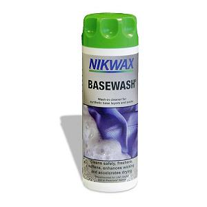 Snowboard The Nikwax Base Wash has been designed to clean your synthetic base layers, socks and travel clothing.  This cleaner will remove odor and refresh your clothing, it is easy to use and can be used in a washing machine.  The Nikwax Base Wash will help the fabric spread sweat and will dry quickly to keep you comfortable in all conditions.   Nikwax is a global leader in safe, high performance waterproofing, cleaning and condition for outdoor gear. Nikwax aftercare products have been PFC free since 1977 (founding date).   Water Based - environmentally friendly, biodegradable, non-flammable, non hazardous, does not contain fluorocarbons,  Use with synthetic base layers, socks, travel clothing,  Base Wash refreshes and removes odors,  Enhances and revitalizes wicking properties,  Helps fabric to spread sweat and dry quickly, keeping you more comfortable in all conditions,  Increases breathability,  Easy to use - can be applied in a washing machine,  Model Year: 2017, Product ID: 256456, Model Number: 141 10OZ, GTIN: 0703861002663 - $12.00