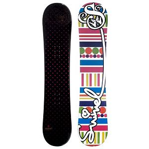 Snowboard Swivel Polka Dots Girls Snowboard - If you're looking for a great snowboard for your beginner to intermediate rider at a great price, look no further! The Swivel Polka Dots Girls Snowboard is a great choice for just about any girl on the mountain. The soft flex pattern makes it very forgiving to ride, so it is great for beginners. The cap construction sidewall lightens up the board a bit, helping your little one excel in her riding. The Swivel Polka Dots snowboard will make your child's day on the mountain perfect! . Actual Turn Radius @ Specified Length: N/A, Base Name: Extruded, Core Name: N/A, Recommended Use: All-Mountain, Waist Width: N/A, Rocker Profile: Camber, Shape: Directional, Flex: Soft, Pipe Oriented: No, Board Width: Regular, Rocker Type: N/A, Core Material: Wood, Construction Type: Cap Construction, Hole Pattern: Standard 4 Hole, Magnatraction: No, Base Material: Extruded P-tex, Warranty: One Year, Skill Range: Beginner - Intermediate, Model Year: 2011, Product ID: 251350, Gender: Girls, Skill Level: Beginner - $99.94