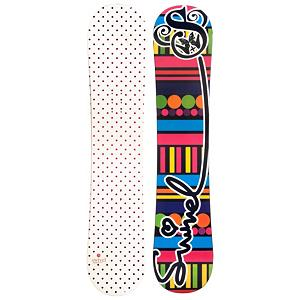 Snowboard Airwalk Dots White Girls Snowboard - Your little girl is growing up, it's no longer I want dolls, make-up, and tea parties. Her focus as switched to snowboarding and that means she needs a snowboard. The Dots White snowboard is perfect for any girl learning to snowboard. Make easy turns with the Dots White Cap construction and camber profile. Cap or sandwich construction makes the board lightweight and easy to turn. A Camber profile gives the riders more control, easier to make toe-side and heel-side turns which are the basics of snowboarding. Camber provides amazing edge hold on icy and all weather conditions. For freestyle riders Camber allows for an increase in the snowboards ability to ollie. The Dots White is going to be your daughter's new best friend on the mountain. . Recommended Use: All-Mountain Freestyle, Rocker Profile: Camber, Shape: Directional Twin, Flex: Medium, Board Width: Regular, Core Material: Wood, Construction Type: Cap Construction, Hole Pattern: Standard 4 Hole, Magnatraction: No, Base Material: Extruded P-tex, Warranty: One Year, Skill Range: Beginner - Intermediate, Product ID: 297125, Gender: Girls, Skill Level: Beginner - $129.99
