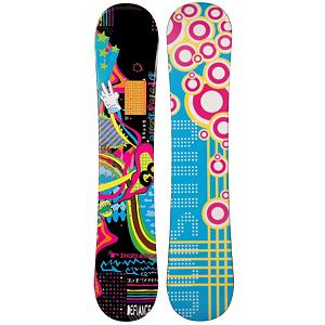 Snowboard Defiance Word of Mouth Girls Snowboard - The Defiance Word of Mouth Girls Snowboard is a cute and fun board for any new rider to pick up the basics on. This entry-level ride features a camber profile which is great for any new rider to learn with. A camber profile make the board very responsive and offers a great edge hold so they can pick up turns and initiate turns easier. There is also a little bit of pop in this Word of Mouth board to add to the fun if your little girl wants to test out some small jumps or easy tricks. Instead of renting a board, this is a quality choice that is easy on the wallet. No longer will you have to kill time waiting to rent a generic board that could delay advancement. The Defiance Word of Mouth Girls Snowboard is a great board to learn on so that they can increase their skill level so that one day they can tackle the more challenging parts of the mountain confidently. . Recommended Use: All-Mountain, Rocker Profile: Camber, Shape: Directional, Flex: Soft, Pipe Oriented: No, Core Material: Wood, Construction Type: Cap Construction, Hole Pattern: Standard 4 Hole, Magnatraction: No, Base Material: Extruded P-tex, Warranty: One Year, Skill Range: Beginner - Advanced Intermediate, Product ID: 297479, Gender: Girls, Skill Level: Beginner - $99.99