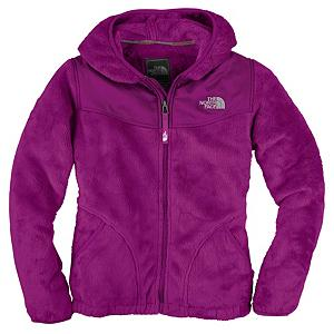 Snowboard The North Face Oso Hoodie Girls Jacket - The North Face Oso Hoodie is a ridiculously comforting fleece that girls will never want to take off. Designed for cold weather use either as a standalone jacket, or as a layering piece under your favorite North Face ski coat. This full zip hoodie features an attached hood for extra protection against unexpected cold weather conditions. The Oso Jacket by North face will be your favorite - go to - cozy fleece when you need that blast of warmth and comfort. . Exterior Material: Silken Fleece, Insulation Weight: 50g, Taped Seams: None, Waterproof Rating: N/A, Breathability Rating: N/A, Hood: Yes, Warranty: Lifetime, Battery Heated: No, Race: No, Type: Fleece, Cut: Regular, Length: Medium, Insulation Type: Synthetic, Waterproof: Not Specified, Breathability: Not Specified, Waterproof Zippers: Yes, Closure Type: Hooded, Wind Protection: Yes, Pockets: 1-2, Model Year: 2013, Product ID: 270310, Shipping Restriction: This item is not available for shipment outside of the United States. - $99.00