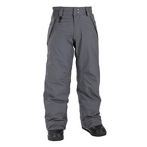 Snowboard 686 Mannual Brook Insulated Girls Snowboard Pants - Girls: 686 has connected to the youth by creating this ultimate pair of Mannual Brook Insulated Snowboarding pants. This pair of snow pants are technically specific to girls for a great fit due to the sizing, features, prints and textures. There is 80 Grams of Insulation that will keep her warm should the temperatures drop drastically. The incredibly handy and great features that this pair of snowboard pants has, is the Youth Evolution 1.5 inch pant leg extension, and the 1.5 inch waist extension. This feature allows for the pants and the waist to be let out by just turning the pants inside out, and snipping the bright colored threads. It is as easy as that. Parents really appreciate this feature, knowing that this pair of snowboarding pants will last to the end of the Season and possibly for the upcoming Season as well. There is an adjustable snow gaiter for a great fit, and to keep the snow from reaching her core. The hand warmer pockets come in handy when gloves or mittens get wet and fingers get cold, she will have instant warmth to continue on for the day. This pair of Mannual Brook Snowboard Pants are the right choice for any winter activity, perfect for the girl on the go that also has a fashion forward sense of style. Features: Snowboard boot lace hook with sock guard flap, Handwarmer front hip pockets, Pant to Jacket powderskirt connection points. Exterior Material: Solid Nylon Oxford, Softshell: No, Insulation Weight: 80 Grams, Taped Seams: Critically Taped, Waterproof Rating: 5,000mm, Breathability Rating: 5,000g, Full Zip Sides: No, Thigh Zip Venting: No, Suspenders: None, Articulated Knee: Yes, Warranty: One Year, Race: No, Waterproof: Moderately Waterproof (5000mm-19,999mm), Breathability: Moderate Breathability (4000g-8999g), Use: Snowboard, Type: Insulated, Cut: Regular, Lining Material: Nylon Taffeta, Waist: Elastic, Pockets: 1-2, Model Year: 2012, Product ID: 243410 - $49.99