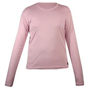 Snowboard Hot Chillys Peachskins Crewneck Girls Long Underwear Top - The Peachskin Crewneck Girls Long Underwear Top by Hot Chillys is the perfect base layer for your daughter. The fit is loose, to provide the comfort that is wanted by youngsters who love to be outdoors. An awesome feature that parents love as much as the wearer is the soft MTF microfiber polyester yarns that have been seasoned to manage moisture This technology will keep your child dry, warm and comfortable in any weather condition. The other benefit to wearing this Peachskins Crewneck is the antimicrobial properties that will keep her fresh with odor blocking control, especially when she is working hard. Protection and warmth will be provided with the interlock knit fabric that has lightly been sanded for an exceptional feel and warmth. Make your childs first, or every outdoor experience the best it can be. This Hot Chillys Peachskins Crewneck is the best for all of her outdoor needs all winter long. Features: Soft MTF, Microfiber Polyester Yarns Seasoned to Manage Moisture, Antimicrobial Properties for Freshness and Odor Control. Fit: Loose, Warranty: One Year, Material: Synthetic, Weight: Mid, Type: Top, Neck: Crew, Model Year: 2012, Product ID: 170330 - $14.90
