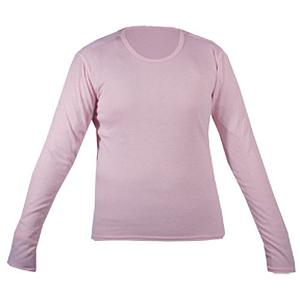 Snowboard Hot Chillys Pepperskin Jr Girls Long Underwear Top - Layering is always a good idea on cold winter days and also for a day of skiing or snowboarding. With this Pepperskin JR Girls Long Underwear Top layering becomes easy. This Hot Chillys under top for girls is ideal as it brings about warmth and comfort; all while maintaining a girly look with its pink fabric. The fabric is a lightly sanded microfiber MTF polyester for additional comfort and warmth and is a great choice for all types of cold weather activates. The moisture transfer fibers are designed to move moisture away from your childs core. There are flat lock seam construction that reduces bulk and abrasion as you burn down the mogels with ease. This Junior Top is the ideal mid-weight, relaxed fitting base layer for all of her cold winter activities this season. . Bearing Grade: Performance, Fit: Loose, Warranty: One Year, Material: Synthetic, Weight: Mid, Type: Top, Neck: Crew, Model Year: 2013, Product ID: 196335, Model Number: PS3400 258 XL, GTIN: 0614996635742 - $25.00