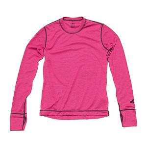 Snowboard Hot Chillys Geo Pro Crewneck Girls Long Underwear Top - The Hot Chillys Girls Geo Pro Long Underwear Crewneck Top brings to you what is offered for a women - you get the same quality and performance. The Geo Pro Crewneck Base Layer is great for all your outdoor needs and perfect for your casual lifestyle. The interlocked construction of MTF polyester yarns help pull moisture away from your skin so it is rapidly dispersed and evaporated to keep you feeling warm and comfortable no matter where your adventure begins. Hot Chillys offers softness and performance in a garment that supplies you with a lived-in feel. The Geo Pro Base Layers are made with contrast flat seamed stitching to eliminate binding and abrasion - providing you with complete comfort. . Fit: Loose, Warranty: One Year, Material: Synthetic, Weight: Mid, Type: Top, Neck: Crew, Model Year: 2014, Product ID: 269185, Model Number: HC4961 889 S, GTIN: 0614996347775 - $29.95