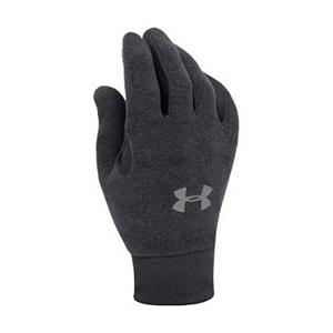 Snowboard Under Armour Stretch Glove Liners - Mens 2011 - The men's Under Armour Stretch Glove Liners provide a great form fitted base layer without the bulk. An added feature is the fantastic grip along the palm lining to help you actually hang onto whatever you desire. They are highly resistant to wind and water so they will keep you warm in cooler climate where you may come into contact with some moisture. The face is made of durable nylon with four way stretch for maximum strength and flexibility, so you truly get the best of both worlds. Your backhand will be super soft with the fleece lining to help keep a little more heat in than most glove liners. . Removable Liner: No, Material: Nylon and Fleece, Warranty: One Year, Battery Heated: No, Race: No, Type: Glove, Use: Liner, Wristguards: No, Outer Material: Nylon, Waterproof: Yes, Breathable: No, Pipe Glove: No, Cuff Style: Under the cuff, Down Filled: No, Model Year: 2013, Product ID: 170124 - $29.95