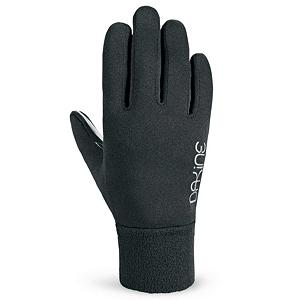 Snowboard Dakine Storm Womens Glove Liners - Need that extra bit of insulation on the coldest days of the year? Check out the Dakine Womens Storm Liner Glove and added a little bit more comfort and warmth to you gloves. The mid weight 280g 4x4 stretch fleece is comfortable and soft without constricting your hand or finger movements and the Silicone Gripper Palm Pattern makes holding on to skis, poles, cell phones and more easy while keeping your fingers warm. . Removable Liner: No, Material: 4x4 stretch fleece, Warranty: One Year, Battery Heated: No, Race: No, Type: Glove, Use: Liner, Wristguards: No, Outer Material: Fleece, Waterproof: No, Breathable: Yes, Pipe Glove: No, Cuff Style: Under the cuff, Down Filled: No, Model Year: 2013, Product ID: 283126 - $20.00