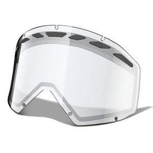 Snowboard Oakley Proven Goggle Replacement Lens - The Proven Replacement Lens provides 100% UV protection from the suns harmful rays but Oakley has taken it one step further with three precision lenses tuned to match the light of your session. With an interchangeable design they have engineered a dual layer, scratch resistant Lexan material that has unsurpassed impact protection with unbeatable clarity. In addition the lenses have venting to fight fog buildup under a variety of circumstances. Be sure to experience the full spectrum of possibilities by picking up each one of the compatible lenses to enhance your ventures. . Race: No, Category: Replacement Goggle Lenses, OTG: No, Comes w/ Case: No, Fog Fan: No, Frame Size: Large, Spherical Lens: No, Polarized: No, Photochromatic: No, Rubberized Strap: No, Helmet Compatible: Yes, Frame Size: Fits Most Faces, Lens Shape: Flat, Lens Coating: n/a, Has Fan: No, Model Year: 2011, Product ID: 165389, Headphones Included: No - $14.95
