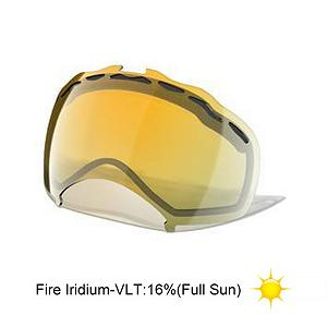 Snowboard Oakley Splice Goggle Replacement Lens 2015 - The Splice Replacement Lens provides 100% UV protection from the suns harmful rays while the Iridium coating reduces glare and offers a balanced light transmission for improved vision. They are made from a dual vented pure Plutonite material that has unsurpassed impact protection with unbeatable clarity while having been treated with a specially formulated permanent coating to resist fog buildup under any circumstances. . Category: Replacement Goggle Lenses, Frame Size: Large, Spherical Lens: Yes, Frame Size: Medium/Large, Lens Shape: Spherical, Lens Type: Mirrored, Model Year: 2015, Product ID: 199276, Model Number: 02-183, GTIN: 0700285260358 - $75.00