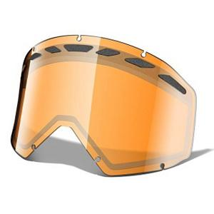 Snowboard Oakley Proven Goggle Replacement Lens - The Proven Replacement Lens provides 100% UV protection from the suns harmful rays but Oakley has taken it one step further with three precision lenses tuned to match the light of your session. With an interchangeable design they have engineered a dual layer, scratch resistant Lexan material that has unsurpassed impact protection with unbeatable clarity. In addition the lenses have venting to fight fog buildup under a variety of circumstances. Be sure to experience the full spectrum of possibilities by picking up each one of the compatible lenses to enhance your ventures. . Frame Size: Fits Most Faces, Lens Shape: Flat, Lens Coating: n/a, Has Fan: No, Model Year: 2011, Product ID: 199277, Headphones Included: No, Helmet Compatible: Yes, Rubberized Strap: No, Photochromatic: No, Polarized: No, Spherical Lens: No, Frame Size: Large, Fog Fan: No, Comes w/ Case: No, OTG: No, Category: Replacement Goggle Lenses, Race: No - $14.95