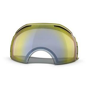 Snowboard Oakley Airbrake Goggle Replacement Lens 2014 - The Airbrake Replacement Lens provides 100% UV protection from harmful rays while reducing glare and offers a balanced light transmission for improved vision. They are made from a dual vented pure Plutonite material with unsurpassed impact protection and unbeatable clarity while having been treated with a specially formulated permanent coating to resist fog buildup under any circumstances. The High Intensity Yellow lens performs best in heavy snow or foggy conditions with a 81% rate of transmission. . Race: No, Category: Replacement Goggle Lenses, OTG: N/A, Comes w/ Case: N/A, Fog Fan: N/A, Frame Size: Large, Spherical Lens: Yes, Polarized: No, Photochromatic: No, Rubberized Strap: N/A, Helmet Compatible: N/A, Frame Size: Fits Most Faces, Lens Shape: Spherical, Lens Coating: n/a, Has Fan: No, Headphones Included: No, Product ID: 280028, Model Year: 2014 - $75.00