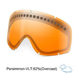 Snowboard Oakley O Frame Goggle Replacement Lens - The O Frame Replacement Lens provides 100% UV protection from harmful rays while helping to reduce glare and offers a more balanced light transmission for improved vision. They are made from a dual vented, scratch resistant pure Lexan material with unsurpassed impact protection and unbeatable clarity while also having special venting features to resist fog buildup under any circumstances. The Persimmon Lens performs best in overcast clouds or low light conditions and has a 62% rate of transmission. . Race: No, Category: Replacement Goggle Lenses, OTG: No, Comes w/ Case: No, Special Feature: No, Frame Size: Large, Spherical Lens: Yes, Polarized: No, Photochromatic: No, Rubberized Strap: No, Helmet Compatible: No, Lens Shape: Flat, Lens Type: Non-Mirrored, Model Year: 2013, Product ID: 93447, Model Number: 02-256, GTIN: 0700285022567 - $25.00