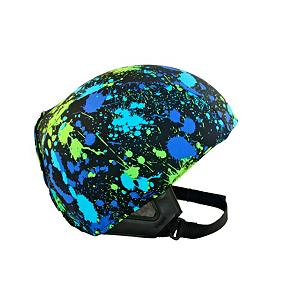 Snowboard Active Helmets Splash Helmet Cover - The Active Helmets Splash Helmet Cover offers the chance to show your personality while ensuring the safety of your head in case you take a spill. Whether it's for you, your child or teen, these helmet covers do an excellent job at promoting safety with a fun, individual style. Made with a unique blend of spandex, nylon and micro-fiber fleece, they ensure a great fit that is compatible with most helmets. So swap them out whenever you want to show off a new style. . Warranty: 7 Days, Race: No, Category: Helmet Covers, Model Year: 2013, Product ID: 281286 - $19.91