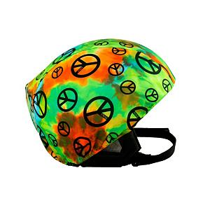 Snowboard Active Helmets Tie Dye Helmet Cover - Go retro with the Active Helmets Tie Dye Helmet Cover. This helmet cover offers the chance to show your personality while ensuring the safety of your noggin in case you take a spill. Whether it's for you, your child or teen, these helmet covers do an excellent job at promoting safety with a fun, individual style. Made with a unique blend of spandex, nylon and micro-fiber fleece, they ensure a great fit that is compatible with most helmets. So swap them out whenever you want to show off a new style. . Warranty: 7 Days, Race: No, Category: Helmet Covers, Model Year: 2013, Product ID: 281287 - $19.91