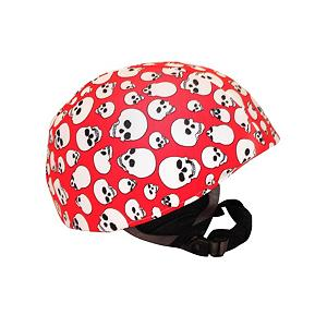 Snowboard Active Helmets Skulls Helmet Cover - Show the mountain that you fear no challenges with the Active Helmets Skulls Helmet Cover. This helmet cover offers the chance to show your personality while ensuring the safety of your head in case you take a spill. Whether it's for you, your child or teen, these helmet covers do an excellent job at promoting safety with a fun, individual style. Made with a unique blend of spandex, nylon and micro-fiber fleece, they ensure a great fit that is compatible with most helmets. So swap them out whenever you want to show off a new style. . Warranty: 7 Days, Race: No, Category: Helmet Covers, Model Year: 2013, Product ID: 281288 - $19.91