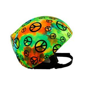 Snowboard Active Helmets Peace Sign Helmet Cover - Made with a unique blend of spandex, nylon and micro-fiber fleece, the Active Helmets Peace Sign Helmet Cover ensures a great fit whether you have it on your helmet or swap it out and place it on a different helmet. Cool styles of these Active Helmets Peace Sign Helmet Covers gives your helmet a personality you can call your own. Whether its for you, your child or teen, these helmet covers do an excellent job at promoting safety with a fun style. . Warranty: 7 Days, Race: No, Category: Helmet Covers, Model Year: 2013, Product ID: 281290 - $19.91