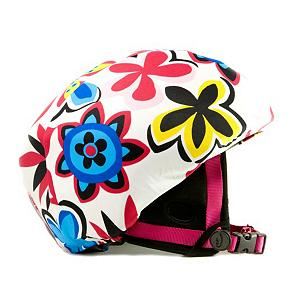 Snowboard Active Helmets Floral Helmet Cover - Cool styles of these Active Helmets Floral Helmet Covers gives your helmet a personality you can call your own. Whether its for you, your child or teen, these helmet covers do an excellent job at promoting safety with a fun style. Made with a unique blend of spandex, nylon and micro-fiber fleece, they ensure a great fit whether you have it on your helmet or anyone else's. . Warranty: 7 Days, Race: No, Category: Helmet Covers, Model Year: 2013, Product ID: 281292 - $19.91