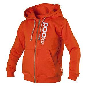 Snowboard POC POCito Full Zip Kids Hoodie - Let you little ripper show who is number one with the POCito full zip hoodie. They will stay war and cozy and be the talk of all their friends with this 100% cotton full zip hoodie. . Hood Type: Fixed, Material: 100% Cotton, Fleece Weight: None, Category: Mid-Weight, Hood: Yes, Warranty: One Year, Battery Heated: No, Type: Full Zip Top, Wind Protection: No, Type: Hoodies, Material: Cotton, Pockets: 1-2, Wicking Properties: No, Type: Long Sleeve, Water Resistant: No, Model Year: 2013, Product ID: 284995 - $49.91