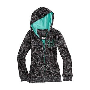 Snowboard Burton Scoop Kids Hoodie - The Burton Scoop Hoodie allows you to ride like royalty, featuring Dryride Thermex bonded fleece and classic hoodie styling, what a sweet ride. A favorite for team rider Alexis Roland, this idyllic blend of style and rider-friendly performance looks as good as it feels. Wear it under your jacket for added warmth or rock it solo to school. This Burton Scoop Hoodie is a quick-drying and breathable fleece that creates a warm wall against cold and wet weather. . Warranty: Lifetime, Battery Heated: No, Model Year: 2013, Product ID: 289626, Shipping Restriction: This item is not available for shipment outside of the United States., Model Number: 275690-014S, GTIN: 0886057807591, Water Resistant: Yes, Sleeve Type: Long Sleeve, Wicking Properties: Yes, Pockets: 1-2, Material: Synthetic, Type: Hoodies, Wind Protection: No, Closure Type: Hooded, Hood: Yes, Category: Mid-Weight, Material: Dry ride Thermex, Hood Type: Fixed - $29.96