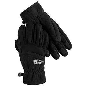 Snowboard The North Face Denali Kids Gloves - The North Face Denali Junior Gloves are a classic-looking pair of gloves designed specifically for youths. Insulated with TKA 300 fleece, they will have maximum warmth while on the slopes, in the park, skating on the lake or sledding on a much anticipated snow day. The 5 Dimensional Fit Technology uses five measurements taken from a single index point at the heel of the hand. That means that these Denali Gloves have been built from the inside out to ensure a consistent size. Another feature is the radiametric articulation technology that uses a unique differential fabric pattern that produces built-in, natural articulation, mirroring the relaxed position of the hand while improving warmth and blood flow to your fingers keeping them comfortable and toasty warm all day long. The elastic wrists seal keeps out the cold and the unwanted snow while the synthetic gripper palms add durability and strength so you can grab your board or your ski poles over and over without tearing. The North Face Denali Junior Gloves have built-in-class comfort, warmth, dexterity and design all wrapped into a pair of gloves sized just right for boys. Features: Synthetic Gripper Palms. Removable Liner: No, Material: TKA 300 Fleece, Warranty: One Year, Battery Heated: No, Race: No, Type: Glove, Use: Casual, Wristguards: No, Glove Outer Fabric: Fleece, Waterproof: No, Breathable: Yes, Pipe Glove: No, Cuff Style: Under the cuff, Down Filled: No, Touch Screen Capable: No, Glove Quality: Good, Glove Weather Condition: Spring, Glove/Mitten Insulation: Synthetic, Model Year: 2014, Product ID: 230892, Shipping Restriction: This item is not available for shipment outside of the United States., Model Number: AWJKJK3-S, GTIN: 0032546345895 - $24.00