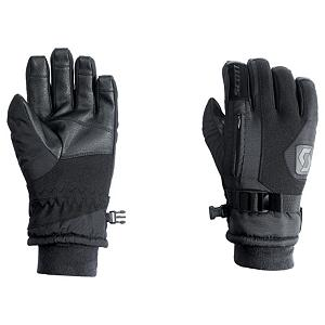 Snowboard Scott Gripper Kids Ski Gloves - The Scott Gripper gloves are where its at no matter if you want to rock them on the mountain or use them for everyday use. The Gripper is made with a softshell/nylon material and leather Toughtek palm. Filled with Thermolite insulation and a soft fleece lining the Gripper is very warm and will keep your hands toasty warm no matter how cold things get. The soft fleece wrist keeps the gripper comfy and the stash pocket allows you to store a little something in your glove. Features: Soft fleece lining. Removable Liner: No, Material: Softshell/Nylon, Warranty: One Year, Battery Heated: No, Race: No, Type: Glove, Use: Ski/Snowboard, Wristguards: No, Outer Material: Softshell, Waterproof: Yes, Breathable: No, Pipe Glove: No, Cuff Style: Under the cuff, Down Filled: No, Model Year: 2012, Product ID: 236723 - $29.98