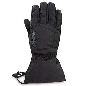Snowboard Dakine Yukon Kids Gloves - With a warmth index rating of 4, this pair of Yukon Junior Gloves from Dakine will keep your child's hands and fingers toasty warm throughout the day. Designed with 280g of synthetic thermoloft insulation that provides a really nice balance of comfort, warmth and durability while resisting moisture and retaining heat. There is a one hand cinch gauntlet cuff closure that is designed to keep out the un-wanted snow from getting in through the sleeves. The well designed weather shield nylon shell fabric has been treated with a durable water repellent (DWR) finish that acts as a barrier to moisture. The backside is also treated with another water resistant and breathable coating designed to regulate your child's climate control, by letting perspiration out while keeping moisture from penetrating inward. These coatings will keep the fingers and hands dry while providing the protection needed for all day skiing or boarding. If your child is a beginner the durathane palms are highly abrasion resistant and soft. This premium synthetic palm material has extreme durability, grip and waterproofing combined to hold up to the toll ropes and beyond. With the pre-curved finger construction the palm pattern has been designed to fit the hands in the relaxed position making it easy to grip your board, hold onto ski poles while also providing easy dexterity for your child to un-zip zippers, get into pockets easily all with comfort, style. performance and a great fit that allows for blood flow to the fingers, leading to warmer hands each time that they are worn. . Removable Liner: No, Material: Nylon with DWR treatment, Warranty: One Year, Battery Heated: No, Race: No, Type: Glove, Use: Ski/Snowboard, Wristguards: No, Outer Material: Nylon, Waterproof: No, Breathable: Yes, Pipe Glove: No, Cuff Style: Over the cuff, Down Filled: No, Touch Screen Capable: No, Product ID: 283147, Model Year: 2013 - $25.00