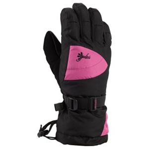Snowboard Gordini Gore-Tex II Girls Gloves - The Gordini Gore-Tex II Girls Ski Gloves are prefect for any young skier who wants their hands and fingers warm so they don't have to go in and constantly warm up. Designed with a durable and reliable heavy denier fabric and 3 layer thermal ply they'll stay protected from the nastiest wintry conditions while enjoying your day skiing. Ensuring that their hands and fingers remain cozy is Megaloft Insulation which promotes warmth and comfort in these gloves. Gore-Tex is a high-quality waterproof, windproof and breathable insert includes in the Gore-Tex II Gloves so they will have the best protection to combat the precipitation and wind. The breathability allows for dry hands because the moisture evaporates away from their hands without allowing the exterior elements in. Also, the Hydrowick Microdenier Lining will help push that moisture away from the skin and allow your little skier to have warm and dry hands. Sturdy, strong and reliable, any junior's hands will feel warm and comfy when they're hitting the slopes as long as they're wearing the Gordini Gore-Tex II Girls Ski Gloves. . Model Year: 2015, Product ID: 288400, Model Number: 2G1036 BLKDPK S, GTIN: 0061492478579, Glove/Mitten Insulation: Synthetic, Glove Weather Condition: Frigid, Glove Quality: Best, Touch Screen Capable: No, Down Filled: No, Cuff Style: Over the cuff, Pipe Glove: No, Breathable: Yes, Waterproof: Yes, Glove Outer Fabric: Nylon, Wristguards: No, Use: Ski/Snowboard, Type: Glove, Race: No, Battery Heated: No, Warranty: One Year, Material: Mini Ripstop with Digital Grip Palm, Fingers, Thumb and Wrap Caps, Removable Liner: No - $33.59
