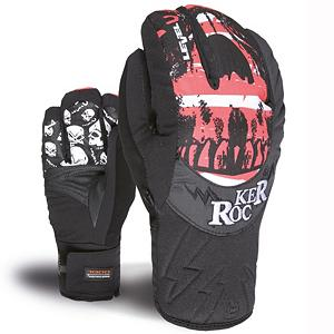 Snowboard Level Rocker Kids Gloves - When your child slips their hands into a pair of Level Rocker Junior Ski Gloves they will feel the soft Thermoliner Insulation warming their hands. Designed to be less bulky than high-loft insulation, this blend of fibers have a great level of heat retention. The Membra-Therm Plus Membrane offers exceptional water-resistance and optimizes warmth and comfort by keeping the hands dry. The Rocker glove has a rocker shape profile were the index and pinky are solo and your other fingers are together, thus giving you the rocker symbol. The Rocker Junior Ski Gloves by Level will help your little skier enjoy their time on the mountain even when the frigid winter temperatures roll in. . Removable Liner: No, Material: Thermoliner, Bearing Grade: Performance, Warranty: One Year, Battery Heated: No, Race: No, Type: 3 Finger, Use: Ski/Snowboard, Wristguards: No, Outer Material: Nylon, Waterproof: Yes, Breathable: Yes, Pipe Glove: No, Cuff Style: Under the cuff, Down Filled: No, Touch Screen Capable: No, Model Year: 2013, Product ID: 290989, Model Number: 4137JG.11 5.5, GTIN: 8053626856621 - $50.00