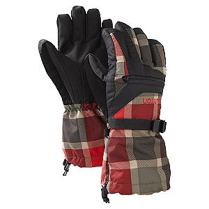Snowboard Burton Vent Kids Snowboard Gloves - The Burton Vent Glove will heat it up or keep it cool. Control your comfort with the all-season waterproof performance. The Vent Gloves have a sweet plaid pattern and a more low key two color blocked design - you have choices of the look that appeals to you. The Vent Gloves ride high passing your wrist giving you extreme warmth. The palm provides perfect grip when you need it and when you want it. . Removable Liner: No, Material: Dry ride, Warranty: Lifetime, Battery Heated: No, Race: No, Type: Glove, Use: Ski/Snowboard, Wristguards: Yes, Outer Material: Softshell, Waterproof: Yes, Pipe Glove: No, Cuff Style: Over the cuff, Down Filled: No, Model Year: 2013, Product ID: 289579, Shipping Restriction: This item is not available for shipment outside of the United States. - $34.95