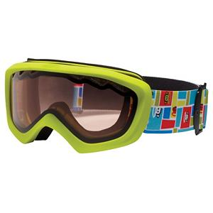 Snowboard Giro Chico Kids Goggles - Great for kids approximately ages 2-5, the Chico Goggles uses Giro's Child Sized Frame to accommodate little faces. The elastic strap features designs and colors that a young girl will want to wear and show off. This helmet compatible design features plush tailored face foam with a micro fleece facing to seal out the elements and keep her vision clear and focused on riding. Thermoformed Cylindrical lenses offer superior optical protection with minimal distortion. The use of dual lens technology helps reduce fogging and allows children to focus on their technique instead of their goggle lens. The vermilion lens tint is a great rose based tint that heightens detail and contrast when light is flat. The performance-engineered lens tints such as the Vermillion are protected by a durable hard coating that resists scratches. The polycarbonate lens material filters 100% of harmful UV rays to keep your child's eyes protected in every condition from Blue Bird sun to cloudy overcast days. . Race: No, Category: Kids, OTG: No, Comes w/ Case: No, Fog Fan: No, Frame Size: Small, Spherical Lens: No, Polarized: No, Photochromatic: No, Rubberized Strap: No, Helmet Compatible: Yes, Frame Size: Fits Most Faces, Lens Shape: Flat, Lens Coating: n/a, Has Fan: No, Model Year: 2012, Product ID: 228431, Headphones Included: No - $24.95