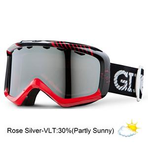 Snowboard Giro Grade Plus Kids Goggles - Designed for performance in a petite package the Grade Goggle uses Giro's Medium Sized Frame to accommodate smaller faces. This helmet compatible design features a soft tailored face foam with micro fleece facing to seal out the elements and keep your kids vision clear and focused on riding. Thermoformed Cylindrical lenses offer superior optical protection with minimal distortion. The use of dual lens technology helps reduce fogging and allows children to focus on their technique instead of their goggle lens. The full range of performance-engineered lens tints and mirror coatings that help enhance vision are protected by a durable hard coating that resists scratches. The polycarbonate lenses filter 100% of harmful UV rays to keep your kids eyes protected in every condition from Blue Bird sun to cloudy overcast days. Huge performance and a comfortable fit, your child will be happy in the Giro Grade Plus Goggles. . Race: No, Category: Kids, OTG: No, Comes w/ Case: No, Special Feature: No, Frame Size: Medium, Spherical Lens: No, Polarized: No, Photochromatic: No, Rubberized Strap: No, Helmet Compatible: Yes, Spare Lens Included: No, Frame Size: Small, Lens Shape: Flat, Lens Type: Non-Mirrored, Model Year: 2013, Product ID: 277568, Model Number: 2034432, GTIN: 0768686856402 - $39.95