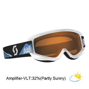 Snowboard Scott Agent Kids Goggles - Designed for toddlers and small children the Scott Agent Jr Goggles come with kid friendly graphics and will keep your childs eyes protected. Your child will stay comfortable in these goggles as they feature a hypoallergenic soft face foam that fits snugly against your childs face for a snug, comfortable fit that will not bother your kids while out on the mountain. The helmet compatible aspect adds to the comfort as the Agent Jr fits perfectly on your childs helmet. The Scott TruView lenses are lightweight and will block 100 percent of the suns harmful UV rays to keep your childs peepers protected against the sun. Also, all lenses are given an anti-fog treatment that will keep your childs vision sharp and crystal clear so they can see all things that are coming their way. . Race: No, Category: Kids, OTG: No, Comes w/ Case: No, Special Feature: No, Frame Size: Small, Spherical Lens: No, Polarized: No, Photochromatic: No, Rubberized Strap: No, Helmet Compatible: Yes, Spare Lens Included: No, Goggle Ventilation: Low, Goggle Lens Change: Permanent, Frame Size: Small, Lens Shape: Flat, Lens Type: Non-Mirrored, Model Year: 2013, Product ID: 280421, Model Number: 224610-PBWT-DAM, GTIN: 0886118239439 - $24.00