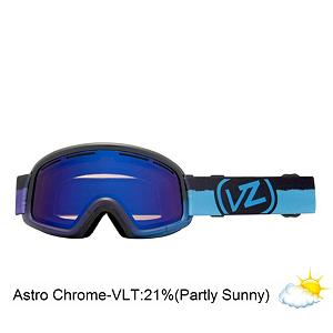 Snowboard Vonzipper Trike Frosteez Kids Goggles - The Trike Frosteez is more fun than a power slide on training wheels. This little goodie fits the most important shredders on the hill. The Trike is equipped with a thermo-poly urethane injection molded frame that remains flexible even in the coldest conditions. The dual cylindrical polycarbonate lens provides your little ones with anti-fog and a good weather seal for their face plus it is equipped with the Barricade hard coating to help prevent scratching. The polar fleece lined, triple density face foam wicks away moisture and provides you with a comfortable seal for all day use. The fast clip feature of this goggle makes putting it on your kids face super easy, especially if you are trying to put it on with a helmet. The Frosteez graphic will turn your kids sundae into a fundae. The Trike will give your kids the look to make them confident enough to hang with kids twice their age. Features: Microfiber Goggle Bag Included. Race: No, Category: Kids, OTG: No, Special Feature: No, Spherical Lens: No, Polarized: No, Photochromatic: No, Rubberized Strap: Yes, Helmet Compatible: Yes, Frame Size: Small, Lens Shape: Flat, Lens Type: Mirrored, Model Year: 2013, Product ID: 283673, Frame Size: Small, Comes w/ Case: No - $29.90