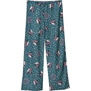 Snowboard Life Is Good Jammin Snowman Sleep Girls Pants - Made with 100% flame resistant poly jersey, these super soft sleeps pants are perfect when your child is heading off into la-la land. The Life is Good Jammin Snowman Sleep Pants are comfortable, warm and boast a super cute snowmen enjoying the winter's day. . Model Year: 2012, Product ID: 227866 - $12.99
