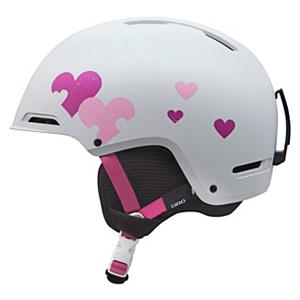 Snowboard Giro Rove Girls Helmet 2013 - Designed specifically for your child and brand spankin new for 2013 the Giro Rove Ski Helmet may be made for kids but its packed with the same features found in adult helmets. This helmet features the Autoloc 2 Fit System which allows your child to adjust the helmet to the secure and comfortable fit that they will enjoy. Eight super cool vents with a weatherstrip vent shield that allows your child to adjust the amount of airflow they want to get in and out of the helmet to keep their head cool while they are out on the mountain. Parents don't worry the Giro Rove is ASTM F2040 and CE EN1077 compliant which ensures your childs head will stay protected should they fall. . Certifications: ASTM F2040 / CE EN1077, Warranty: One Year, Gender: Girls, Special Features: Super Fit Engineered, Race: No, Category: Half Shell, Audio: Not Compatible, Brim/Visor: No, Ventilation: Adjustable, Custom Fit Adjustment: Yes, Year Round Capable: Yes, Shell Construction: Hard Shell, Model Year: 2013, Product ID: 277771 - $54.94