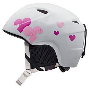 Snowboard Giro Slingshot Girls Helmet - Fit to rip the Slingshot Ski Helmet by Giro has the best performance technologies for your child. The In-Mold construction has a tough polycarbonate outer shell with the helmet's impact-absorbing foam liner to give the protection your child needs if they are just learning to ski or snowboard. If they are not a beginner, it is good to know that this Slingshot helmet will protect and cover your little one's head from injuries. The great fit is due to the In Form Fit system that provides them with a custom fit by using the dial at the base of the helmet. This dial provides up to 6cm of adjustment and enhanced stability to accommodate different size goggles and head shapes for that custom fit each and every time that they wear this stylish, graphic, high performance helmet. There are also super cool vents to allow for the fresh air to be pulled into this helmet while letting the heat and stale air escape. These 4 super cool vents help them to regulate their own temperature and keep them feeling and smelling fresher as the day progresses. Now your child can have a soft and cozy interior for high comfort, along with great style with the latest technologies all wrapped up into this one Slingshot Ski Helmet. . Certifications: ASTM F2040 / CE EN1077, Warranty: One Year, Gender: Girls, Special Features: Super Fit Engineered, Race: No, Category: Half Shell, Audio: Not Compatible, Brim/Visor: No, Ventilation: Fixed, Custom Fit Adjustment: Yes, Year Round Capable: No, Shell Construction: In Mold, Model Year: 2013, Product ID: 277785 - $39.88