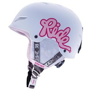 Snowboard Ride Greenhorn Girls Helmet - Protect your mini-shred with the Ride Greenhorn girl's helmet featuring durable ABS hardshell construction, removable ear pads and plush fleece-like liner detailing. Also including the new RideDial Fit system, this cozy Ride Greenhorn helmet offers top protection and a comfortable fit for your little ripper with ease. . Model Year: 2013, Shipping Restriction: This item is not available for shipment outside of the United States., Product ID: 280661, Shell Construction: Hard Shell, Year Round Capable: No, Custom Fit Adjustment: Yes, Ventilation: Fixed, Brim/Visor: No, Audio: Not Compatible, Category: Half Shell, Race: No, Gender: Girls, Warranty: One Year, Certifications: ASTM F2040, CE EN1077:2007 B - $39.88