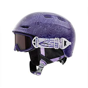 Snowboard Smith Gage Jr Girls Helmet - When you see a gromette with better Style than you, he's probably wearing the Smith Gage Jr. This slopestyle worthy helmet brings the superior ventilation and technology you've come to expect from Smith, in an unexpectedly smooth package. AirEvac uses a system of shell vents to actively pull warm, moist air out of the user's goggles and exhaust it out of the helmet to prevent fogging. Airflow Climate Control gives your grom the choice to either lock the breeze out or let it in. No wonder kids don't want to grow up. GOGGLES NOT INCLUDED. Features: 12 Vents, Removeable Bombshell Earpads, Over-Beanie Compatible, All-Season Use, GOGGLES NOT INCLUDED. Certifications: ASTM F 2040, CE EN 1077:2007 CLASS B PENDING: CPSC, CE EN 1078, Warranty: Lifetime, Gender: Girls, Race: No, Category: Half Shell, Audio: Audio Compatible, Brim/Visor: Yes, Ventilation: Adjustable, Custom Fit Adjustment: No, Year Round Capable: Yes, Shell Construction: Hard Shell, Model Year: 2013, Product ID: 281276 - $54.99