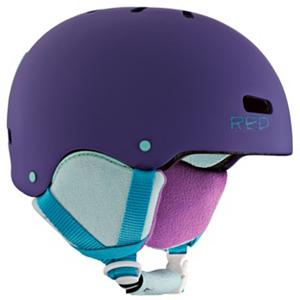 Snowboard R.E.D. Trace Grom G Girls Helmet - The R.E.D. Trace Grom G helmet was made for the preschool ripper that will put you to shame. The Trace Grom G offers your little ripper maximum durability and easy customization for year round use. The Trace Grom G has a durable injected ABS shell that is ASTM 2040, CPSC, and CE 1077B certified to keep juniors head protected as he goes ripping down the mountain or down the street on his skateboard or bike. The R.E.D. Trace Grom G helmet has NoAir Vent Plugs which is a windproof and snow proof seal against the winter elements, soft fleece backing for warmth and comfort, and best of all, it's removable. Who really needs to stay warm and insulated in the middle of July, right? You will no longer have to worry about the safety of your kids head when they are wearing the R.E.D. Trace Grom G helmet. . Warranty: One Year, Model Year: 2013, Model Number: 278592-917S, GTIN: 0632059327731, Product ID: 283929, Shell Construction: Hard Shell, Year Round Capable: Yes, Custom Fit Adjustment: No, Ventilation: Fixed, Brim/Visor: No, Audio: Not Compatible, Category: Half Shell, Race: No, Special Features: Removable Goggle Clip, Gender: Girls, Certifications: ASTM 2040, CPSC, and CE 1077B - $39.95