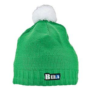 Snowboard Bula Murf Kids Hat - The Murf kid's beanie by Bula is 100% acrylic which means it won't itch. With a micro-fleece lining it is sure to keep kids warm even on the coldest days. The bright hat with a contrasting puff ball is perfect for young kids and easily brightens up an old ski jacket. . Warranty: One Year, Battery Heated: No, Material: Acrylic, Lined: Yes, Type: Beanie, Product ID: 223199 - $7.95